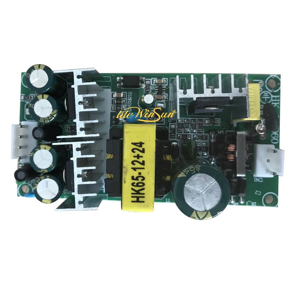 Freeship 1pc Power Supply Board For 60W LED Beam Spot Moving Head Light 65W 60W 12V 24v Output