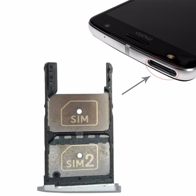 NEW 2 SIM Card Tray + Micro SD Card Tray for Motorola Moto Z Play