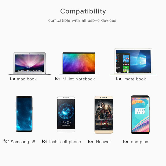 Adapter USB Type-C Micro USB Converter Cable Type C Adapter USB 3.1  Support OTG For Xiaomi 4C /Huawei /HTC Oneplus LG Tablet 5
