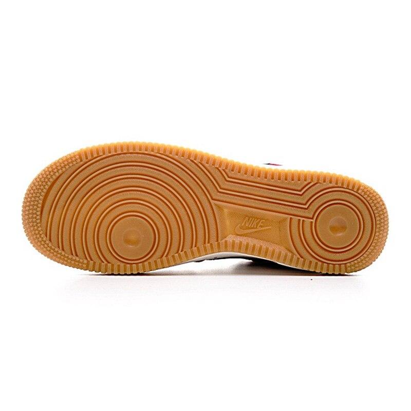 NIKE AIR FORCE 1 LOW AF1 Men Skateboarding Shoes ,Red WhiteRed Black,Slip Resistant Water Resistant 820266 600 820266 009