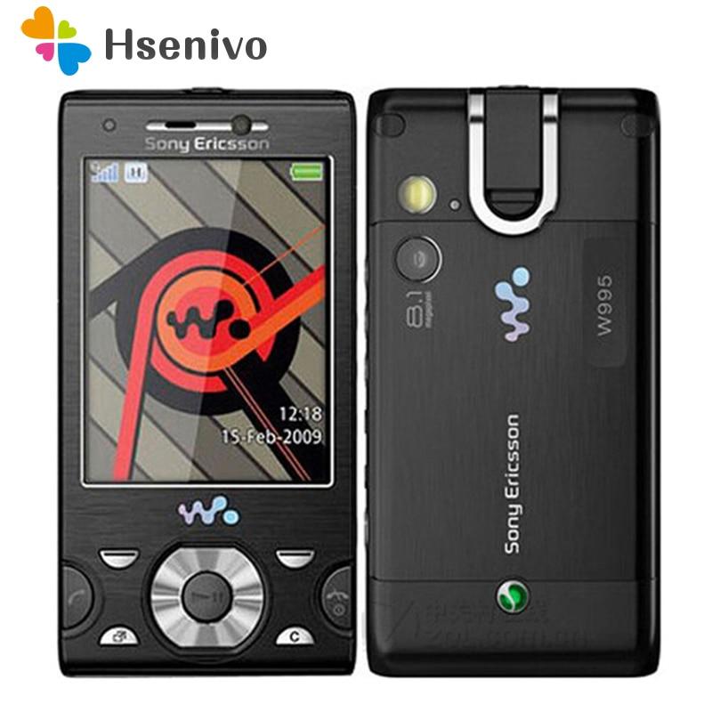 W995 w995i Original Desbloqueado Sony Ericsson Do Telefone Móvel Música telefone Deslizante 3g WIFI GPS Do Telefone Celular Frete grátis