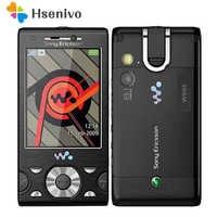 W995i oryginalny odblokowany Sony Ericsson W995 telefon komórkowy suwak telefon muzyczny 3G WIFI GPS telefon komórkowy darmowa wysyłka
