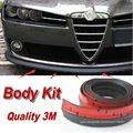 Car Bumper Lip/Fazer a parte inferior Do Corpo do carro Kit/Para Alfa Romeo 159 AR 2005 ~ 2015 Frente/Traseira Spoiler Saia/Defletor de Borracha tira