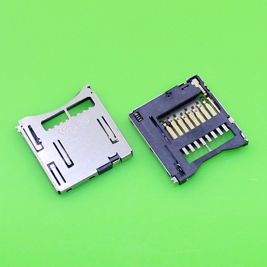 ChengHaoRan 1 Piece Brand new TF card socket connector for many smart mobile phones and tablet PC.KA-056
