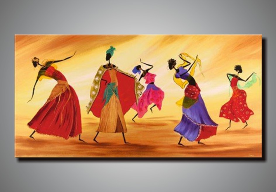 L3215 100 Hand Painted Unframed Good Quality Large -4687