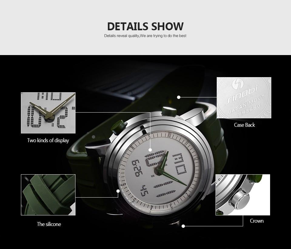 geekoplanet.com - Luxury Double Movement Waterproof Sport Watch