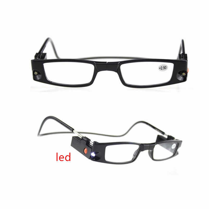 0a7e03942eff Detail Feedback Questions about Multi Strength LED Reading Glasses magnetic  reading glasses Eyeglass Spectacle Diopter Magnifier Light UP +1.0+4.0 on  ...