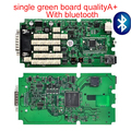 2016 Highest  Quality with Bluetooth Single Board green pcb TCS CDP for  Auto Car Scan Tools For Cars & Trucks