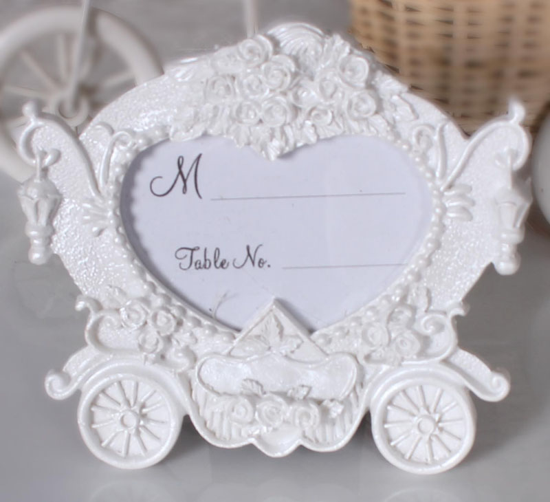 European style photo frame wedding gift marriage carriage resin ...
