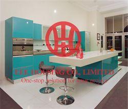 Maßgeschneiderte moderne lack küchenschrank mit ausgezeichnete design und qualität MOQ ist 1 satz & nippen durch meer