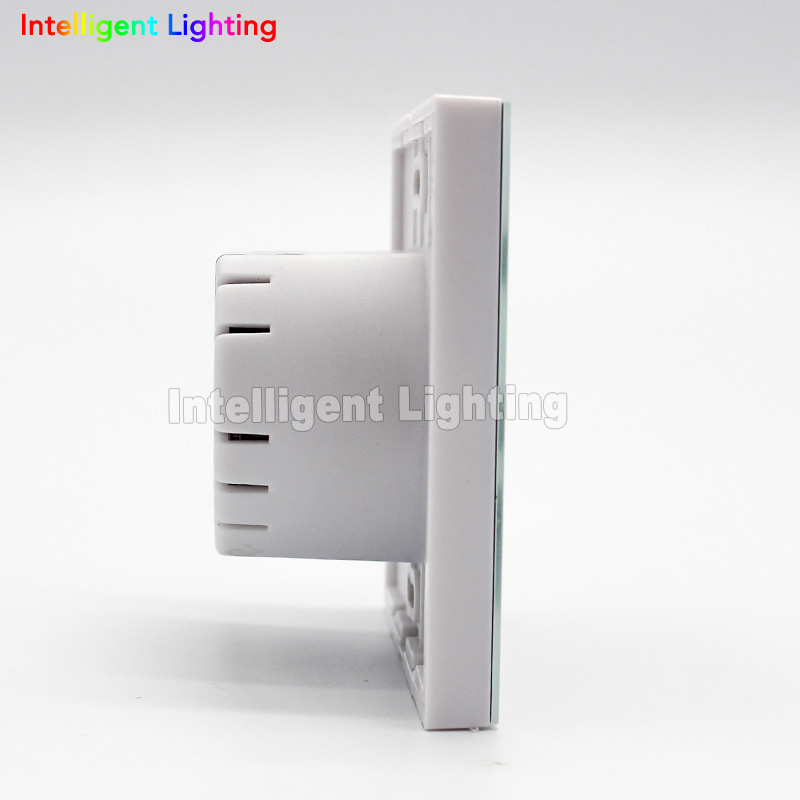 nieuwe 24g rgbw led wall touch panel afstandsbediening led dimmer voor milight rgbw rgbww lamp verlichting 100 240 v ac in nieuwe 24g rgbw led wall