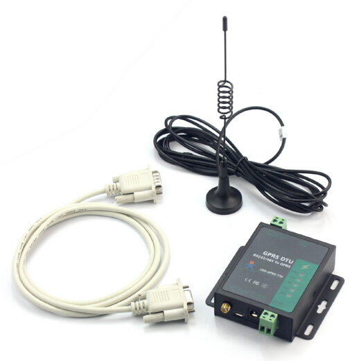 USR GPRS232 730 RS232 RS485 GSM Modems Support GSM GPRS GPRS to Serial Converter DTU Flow