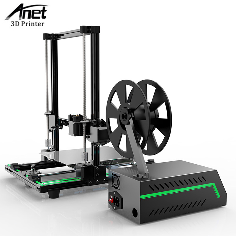 Anet E10 E12 A8 A6 3D Printer Machine Large Printing Size High Precision Reprap i3 DIY 3D Printer Kit with 10M/1KG Filament 2017 newest anet e10 e12 3d printer large printing size high precision reprap prusa i3 diy 3d printer kit with filament free