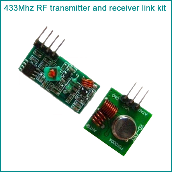 2PCS 433Mhz RF transmitter and receiver kit for Arduino/ARM/MCU WL