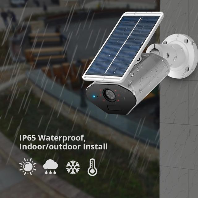 Solar Power Wireless Camera