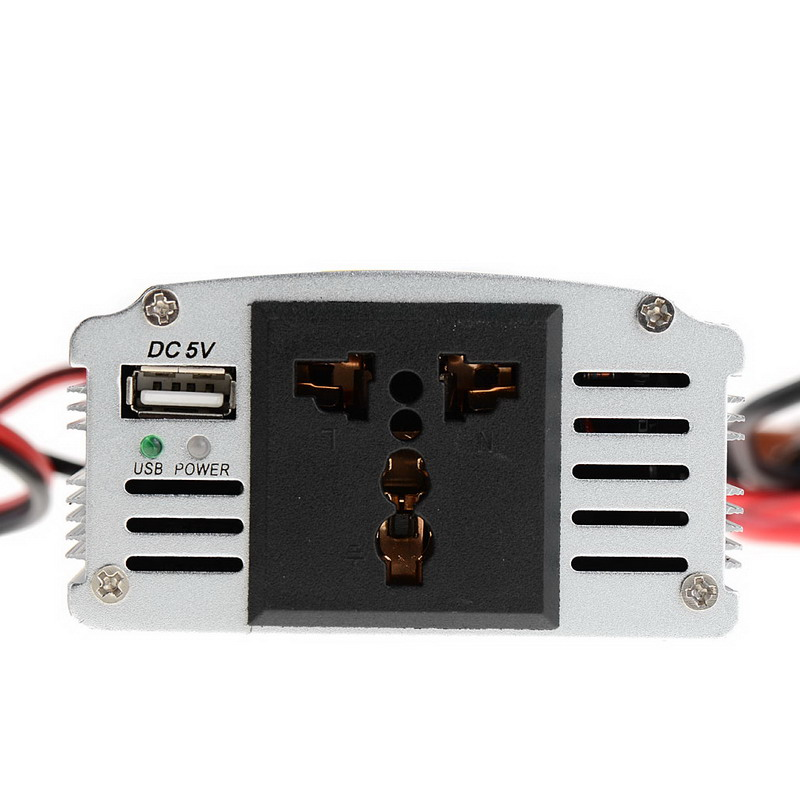 цена на 1 PC Hot Selling 300W Outlets Power Inverter DC 12V to AC 220V Car Adapter Laptop Smartphone VEK03 P50