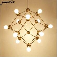 Moderne Kronleuchter Licht Magische Bohne Bronze Kronleuchter Kreative  Schlafzimmer Villa Kronleuchter Beleuchtung Enthalten Bir.