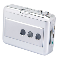 SCLS Upgraded Version Portable Cassette To MP3 Converter USB Tape To MP3 Player Music Player With