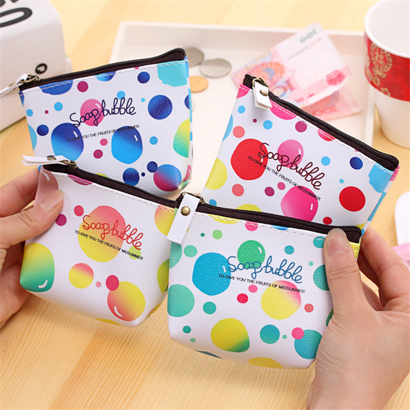 Coin Purses For Child Bulk 12pcs/lot Small Money Coin Bag Bubble Shaped Women Girl Change Purse Key Holder Wallet Monedero Mujer лонгборд st waterline