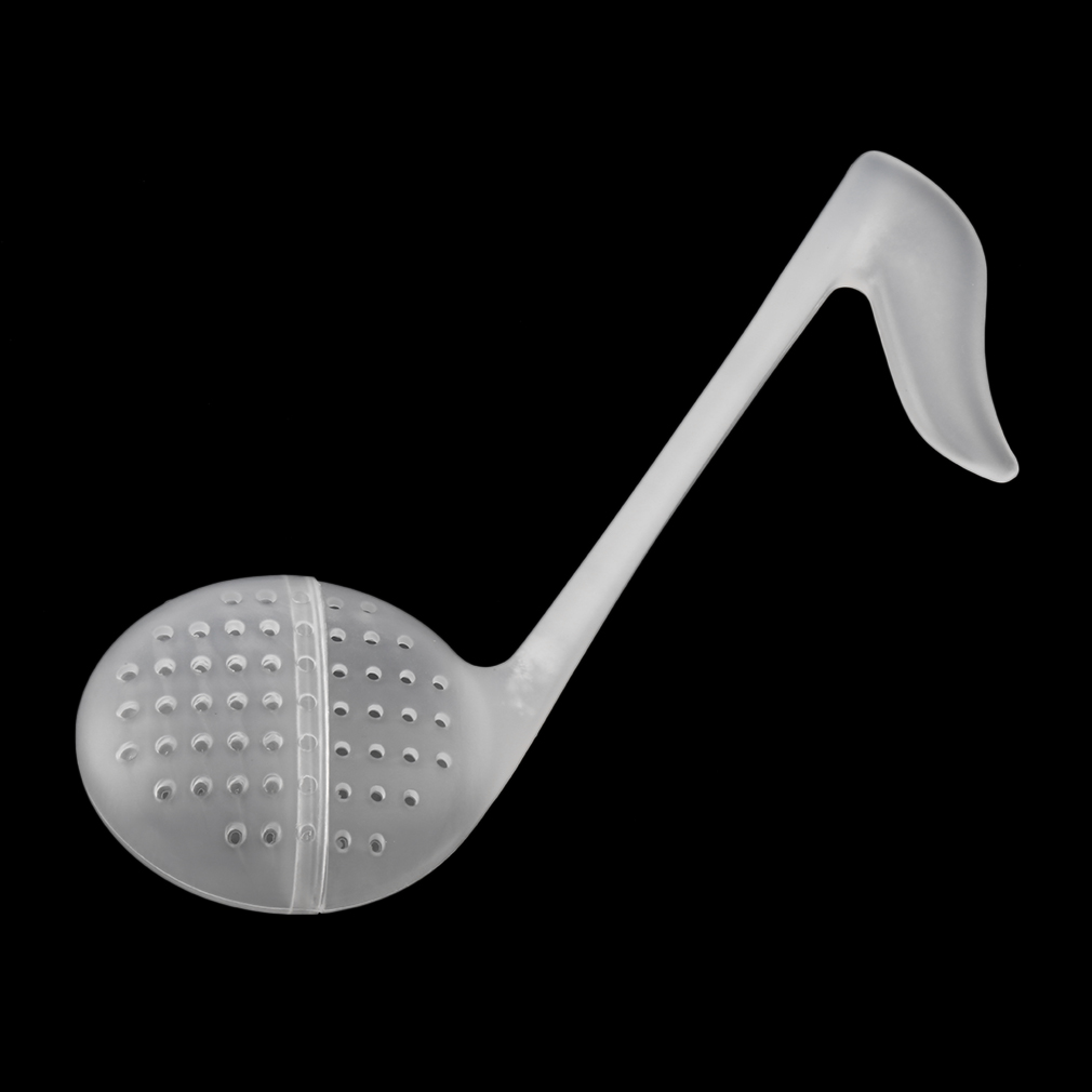 2Pcs Music Note Fashion Convenience Tea Strainer Spoon Teaspoon Infuser Filter kitchen tools