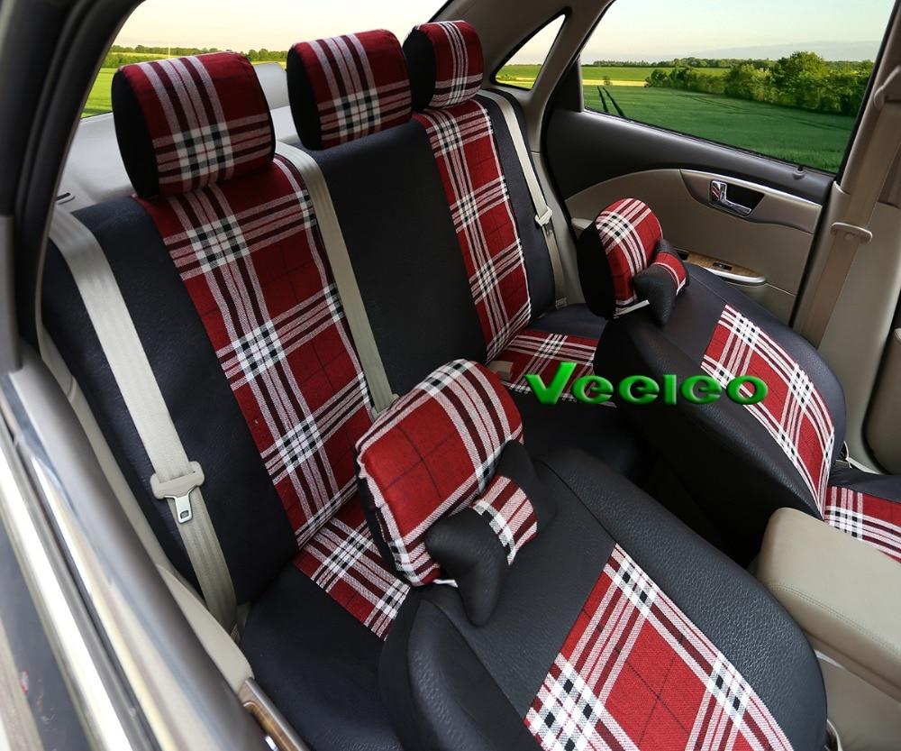 Efecto negro 3d fundas para asientos para honda accord asiento del coche referencia completamente