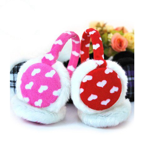 Candy love money warm plush ear protection / protective equipment / home daily wedding