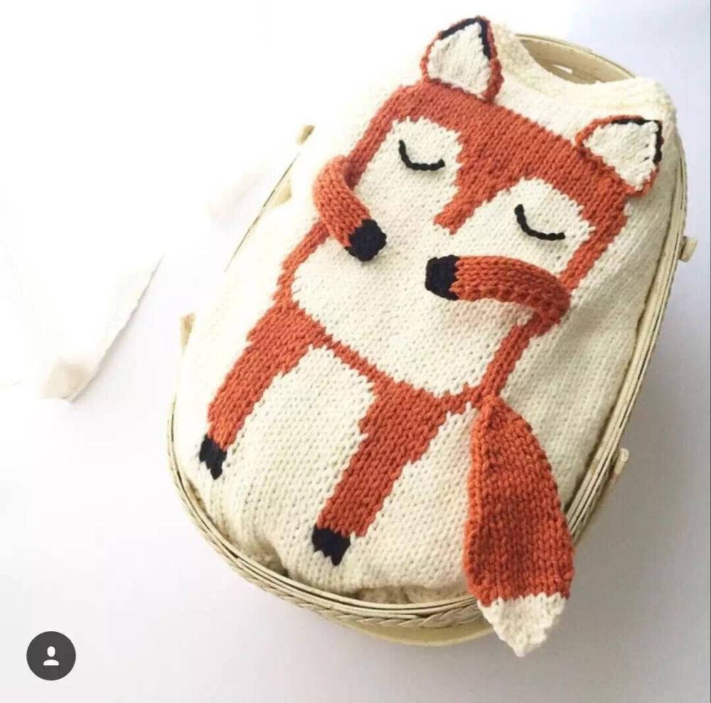 3D bande dessinée à la main fil couverture doux jeter Animal tapis enfants tricot couverture pour canapé maison lit voiture avion épais souris