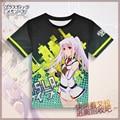 Japanese Anime Plastic Memories T-shirt Isla Polyester T Shirt Summer Active Otaku Men Women Tees