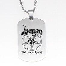 """Venom-parody """"VEGAN – Welcome to Health"""" keychain"""