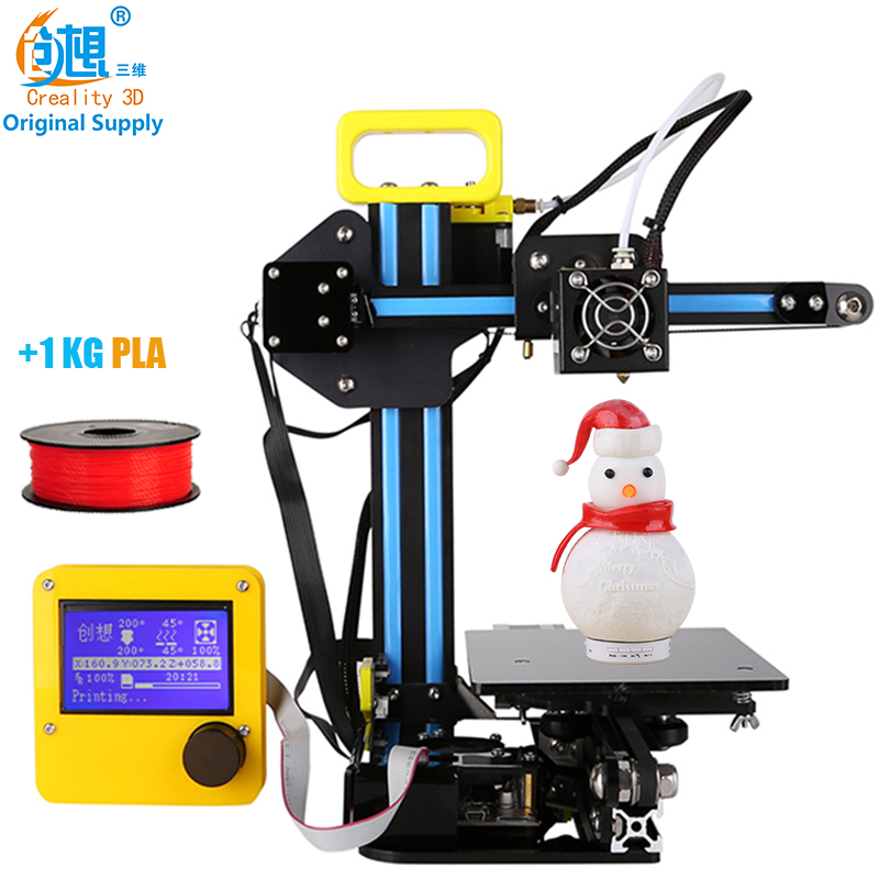 CREALITY 3D Cheap 3D Printer Mini 3D Printer CR 7 Aluminium Extrusion 3D Printer kit DIY