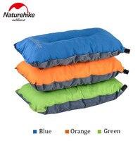 Naturehike Ao Ar Livre Camping Mat Automático Inflável Travesseiro Esponja Travesseiro de Viagem Ar Almofada Ultraleve Macio Fácil de transportar