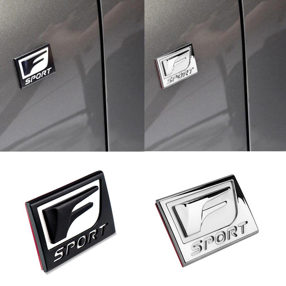 Car Sticker For Lexus F SPORT RX300 RX350 NX300 GS RX ES IS250 ES350 LX570 CT200 Car Side Fender Sticker Car Accessories in Automotive Interior Stickers from Automobiles Motorcycles