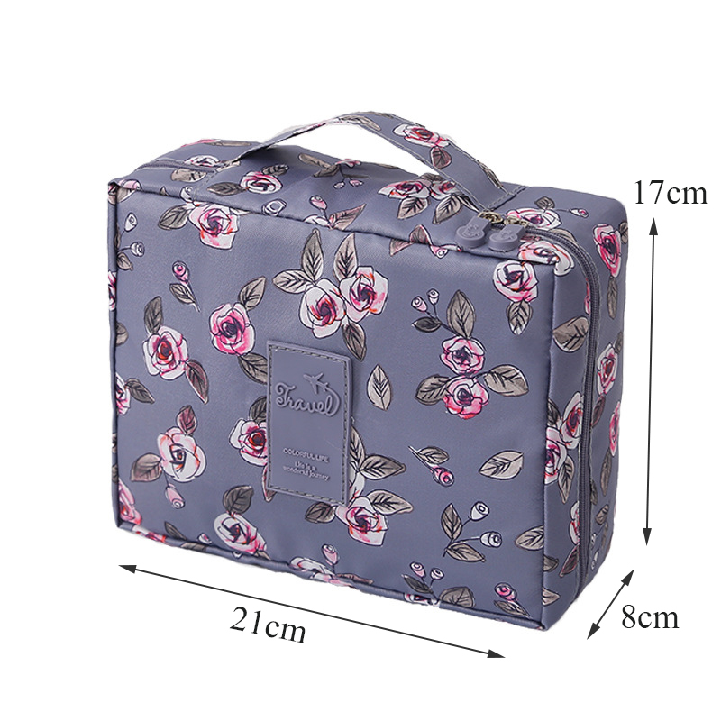 HTB1PxdAVNnaK1RjSZFtq6zC2VXaZ - New Flower Makeup Bag Women Waterproof Portable Cosmetic Bag Travel Necessity Beauty Toiletry kit Organizer Bag