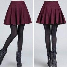 Sexy Mini Stretch High Waist Cotton Short Skirt for Shemale & Crossdressers