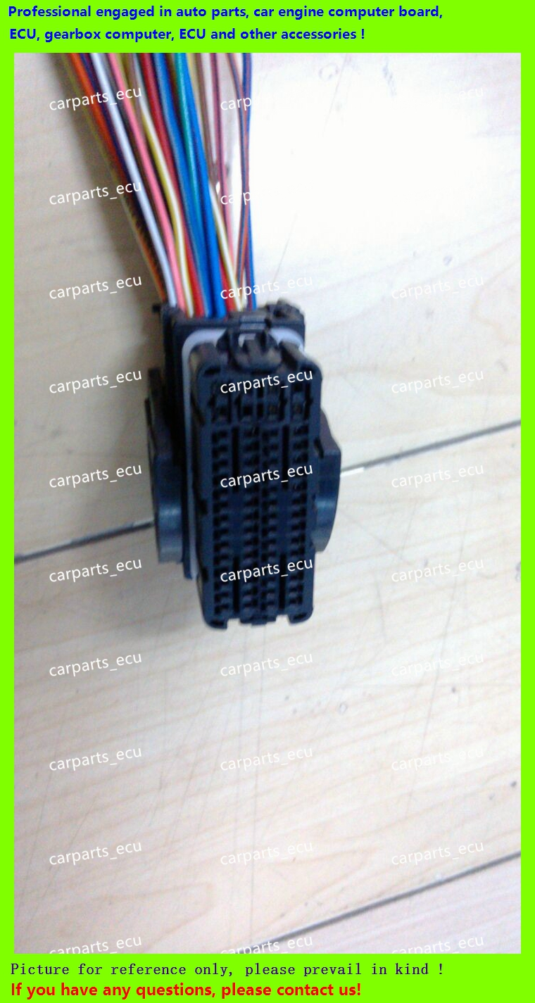 Ecu Female 48 Pin Way Molex Automotive Central Contral System Wire Wiring Harness Electronic Control Unit Accessories Connector Car Engine Computer Plug 64