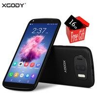 Free 16G SD Card XGODY 3G Unlock Dual Sim 6 Inch 18 9 Smartphone Android 6
