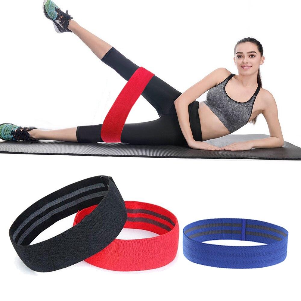 Résistance À chaud Bandes Hanche Bande Élastique Bande pour Appareils De Fitness Hip Boucle En Caoutchouc Bandes Jambe Gym Yoga Workout Expander CrossFit