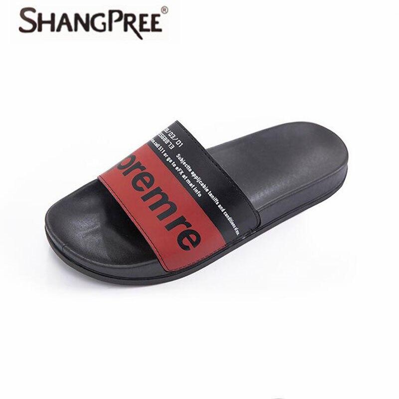 5d402e53d9a0c2 SHANGPREE New 2018 Women slippers Summer Lovers Home Slippers flat Sandals  Women Shoes beach Flip Flops