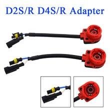 SKYJOYCE 1 пара D2S адаптер для D2 HID лампы D2S розетка/D2S постоянного тока в постоянный преобразователи для розетка усилителя/разъем для D2S/R D4S/R HID переделочный комплект