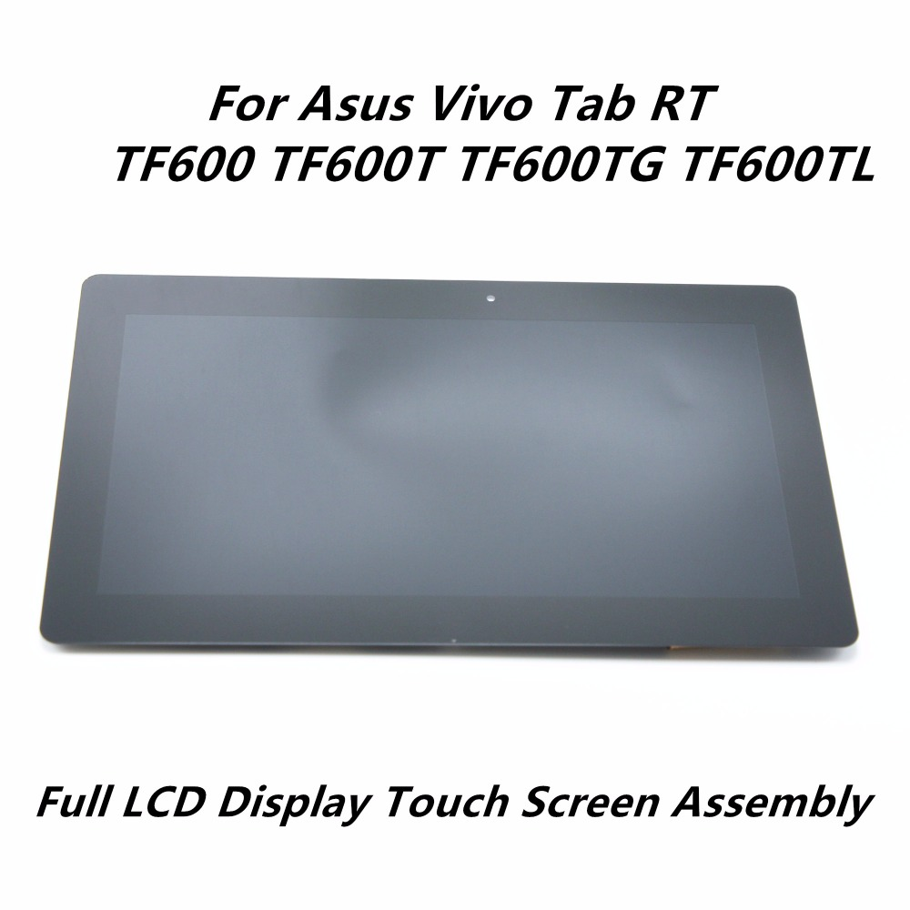 10.1 Touch Glass Digitizer + LCD Display Panel Screen Assembly For Asus Vivo Tab RT TF600 TF600T TF600TG TF600TL 5234N FPC-2 торшер 1702 1f favourite