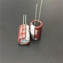 5 шт. 100 мкФ 100 в NICHICON PW серии 13x20 мм низкое сопротивление 100V100uF алюминиевый электролитический конденсатор
