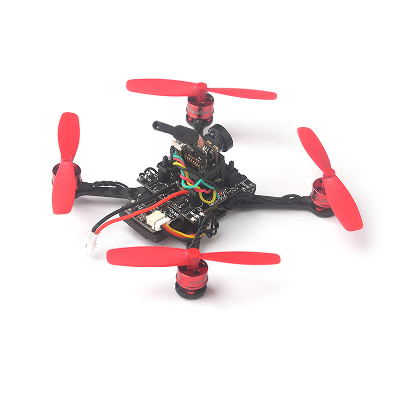 Trainer 90 0703 1S Brushless FPV Racer Drone with Flysky Frsky DSM/2/X Receiver Fusion X3 Flight Control PNP Set RC Quadcopter original eachine m80 micro fpv racer quadcopter rc drone spare parts flight control board frsky flysky dsmx