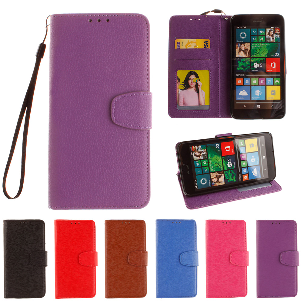 Flip For Microsoft Nokia Lumia 640xl Lumia640xl Lte Dual Case Rm-1064 Rm-1065 Phone Leather Cover For Nokia Rm Case Agreeable Sweetness 640 Xl