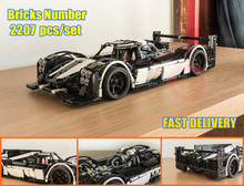 New Technic MOC-5530 Hybrid Super Racing Car fit technic city Model Building Blocks Bricks Toys for DIY Birthday kid Gift цена 2017