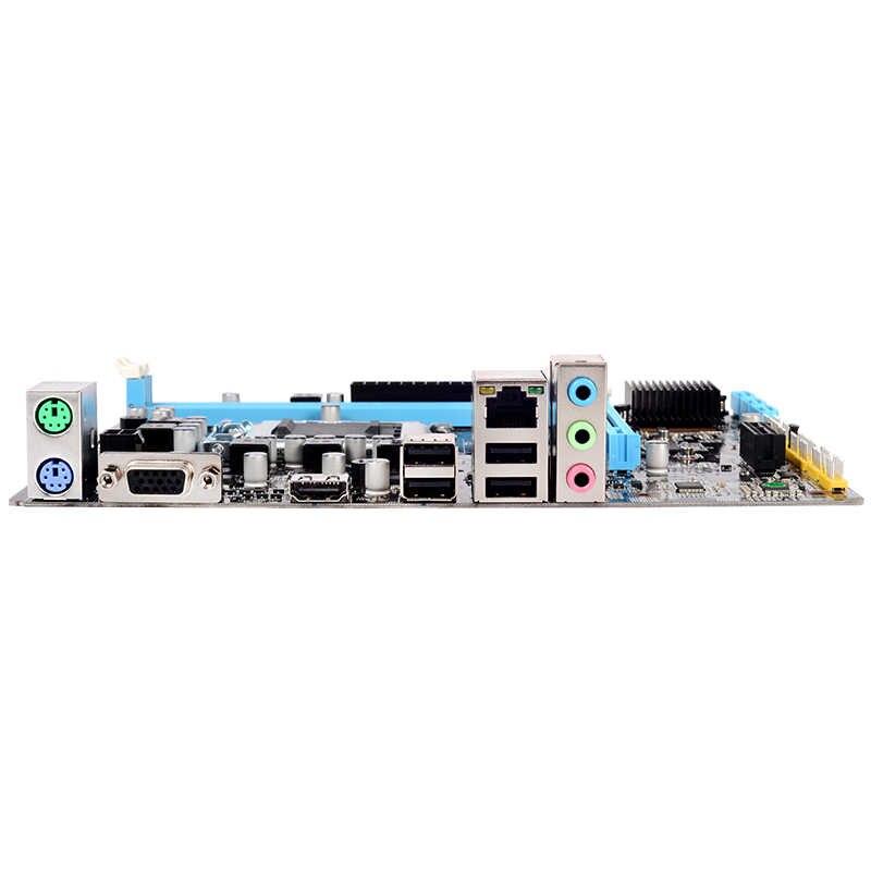 AAAJ-H55 Motherboard Baru Lga1156 Ddr3 Mendukung I3 I5 I7 CPU Papan Utama PCI-Express Port USB Mainboard Main Board untuk menghitung