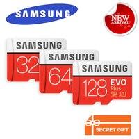 SAMSUNG Neue Speicherkarte MicroSD Trans Flash Karte EVO Plus 256 GB 128 GB 64 GB 32 GB Class10 TF Karte SDHC/SDXC UHS-I Bis zu 100 MB/s