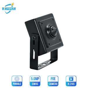 Image 1 - Wheezan IP Security Camera Mini 5MP H.265 Surveillance home Indoor DC12V ONVIF P2P Audio 3.7mm Lens HD 1080P CCTV POE Camera