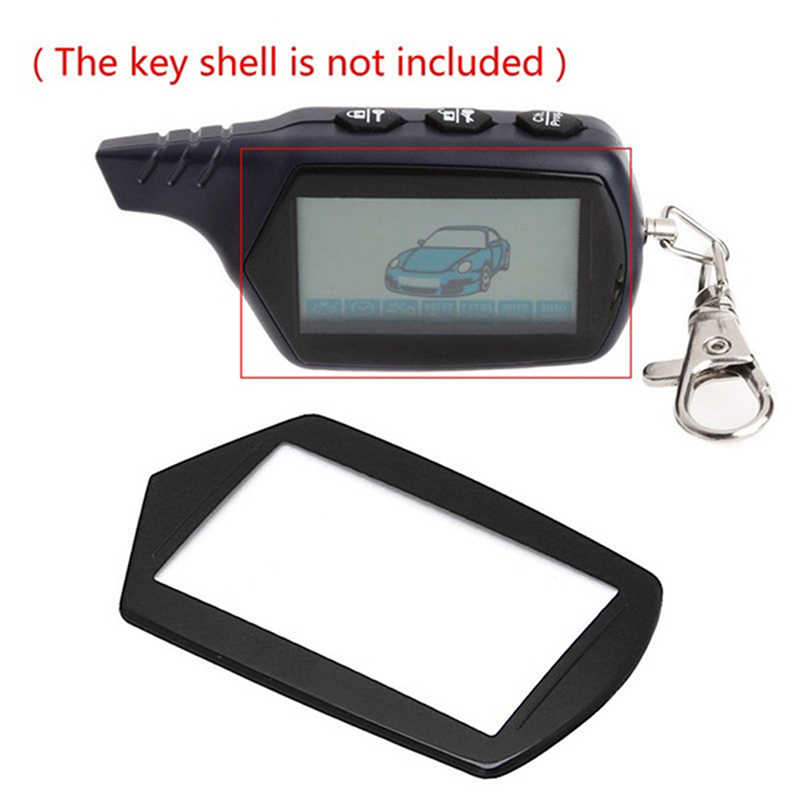 1pc LCD Keychain Case Glass Cover For Starline B9 A91 B6 A61 B61 B91 V7 2-way Car Anti-Theft Remote Control Key Chain