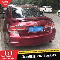 For Honda Accord Spoiler High Quality ABS Material Car Rear Wing Primer Color Rear Spoiler For Honda Accord Spoiler 2008 2013