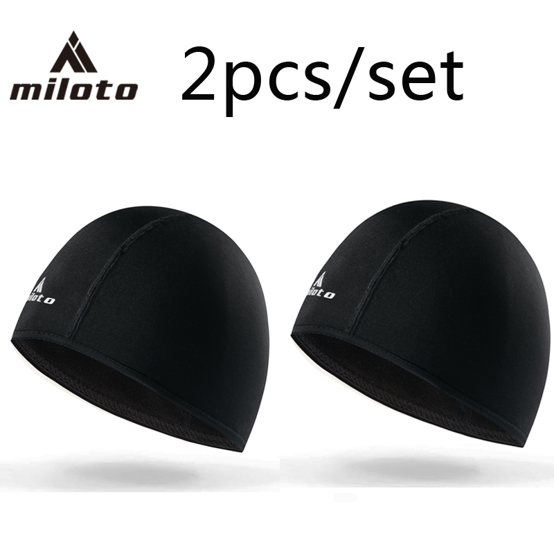 MILOTO Winter Warm Cycling Cap Sports Bicycle Bike Running Skiing Fleece Windproof Bandana Men Women Thermal Mask Caps Headband